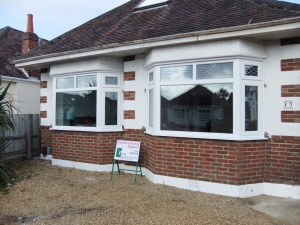 Window installed in Northbourne after