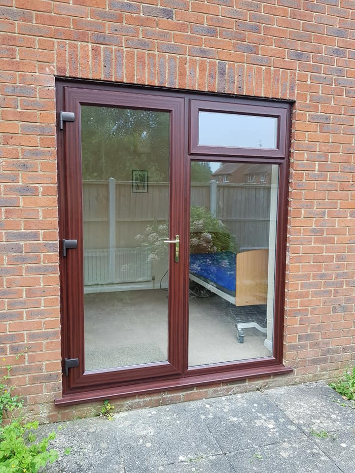after patio doors