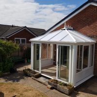 Conservatory roof replacements after