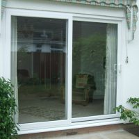 conservatory door after