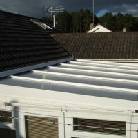 conservatory roof after 1