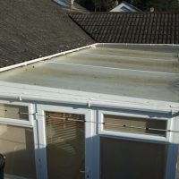 conservatory roof before 1