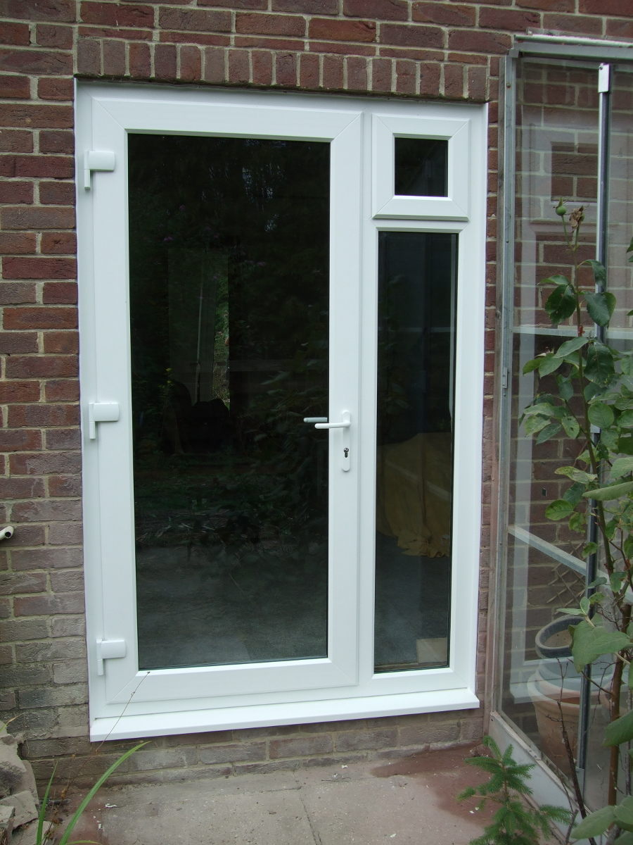 window to door conversion after